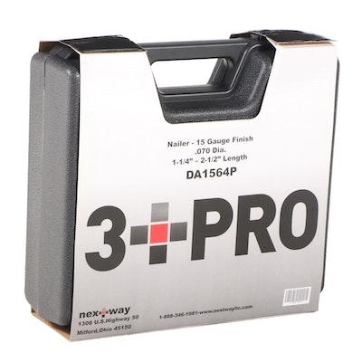 NextWay 3 PRO DA1564P Framing Nailer with Case, Accessories