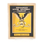 """1925 Indianapolis Motor Speedway 13th """"Indy 500"""" Racing Program"""