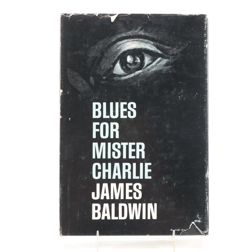 """First Edition """"Blues for Mister Charlie"""" by James Baldwin, 1964"""