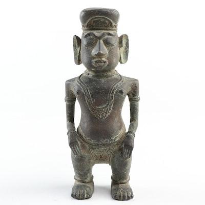 South Indian Bronze Figure, Antique