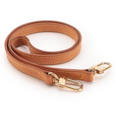Louis Vuitton Vachetta Leather Detachable Shoulder Strap