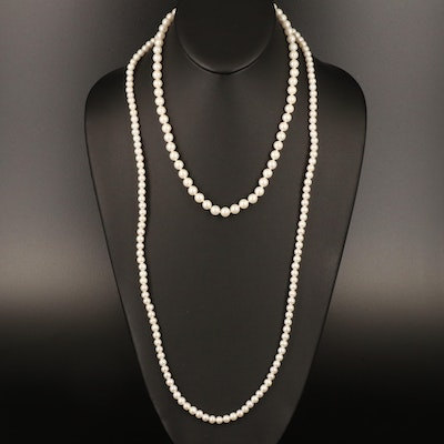 Pearl Princess and Matinee Length Necklaces