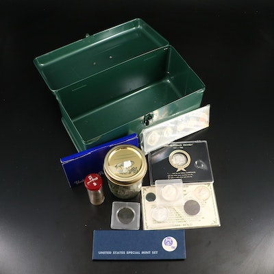 Assortment of U.S. Coinage, Including Silver