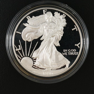 1996-P $1 American Silver Eagle Proof Coin