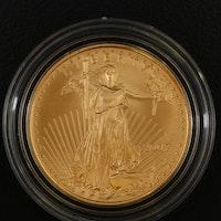 2007-W $25 Half-Ounce American Eagle Gold Bullion Coin
