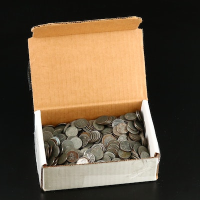 525 1943 Wartime Steel Cents