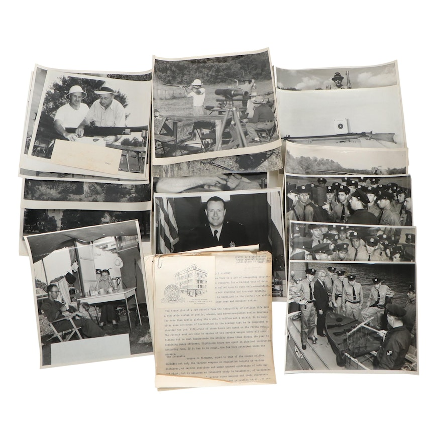 George D. Wolfe Silver Gelatin Photographs with Letters, Mid-20th Century