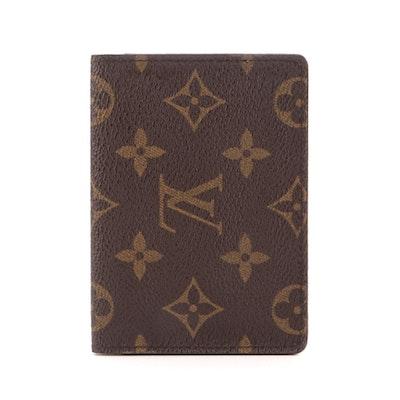 Louis Vuitton Porte Vertical 2 Card Holder in Monogram Canvas