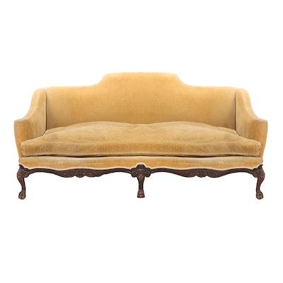 George III Style Mahogany Sofa, Early 20th Century