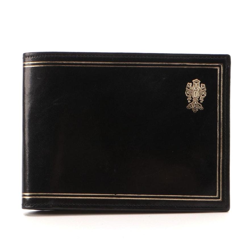 B. Giaconi Gilt Bifold Card Holder Wallet