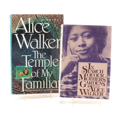 """Signed First Edition """"The Temple of My Family"""" and More by Alice Walker"""