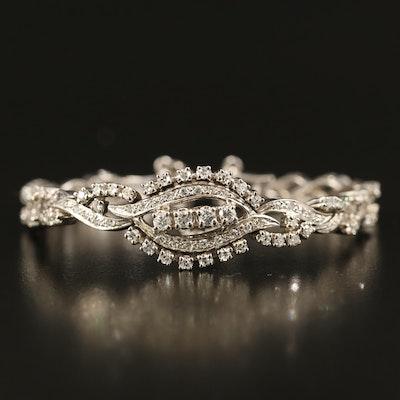 14K 2.44 CTW Diamond Bracelet