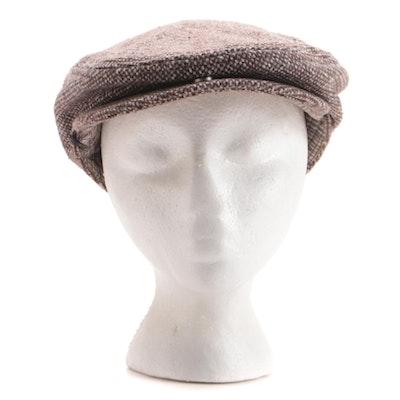 Aéropostale Tweed Wool Blend Flat Cap