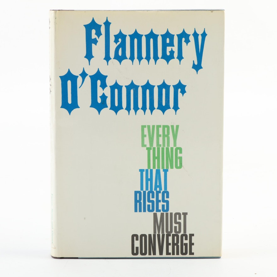 """Second Printing """"Everything That Rises Must Converge"""" by Flannery O'Connor"""