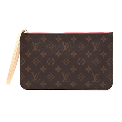 Louis Vuitton Neverfull PM Pouch in Monogram Canvas