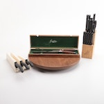 Wiltshire, Griffon and Master Chef Knives, Knife Block and Revolving Tray