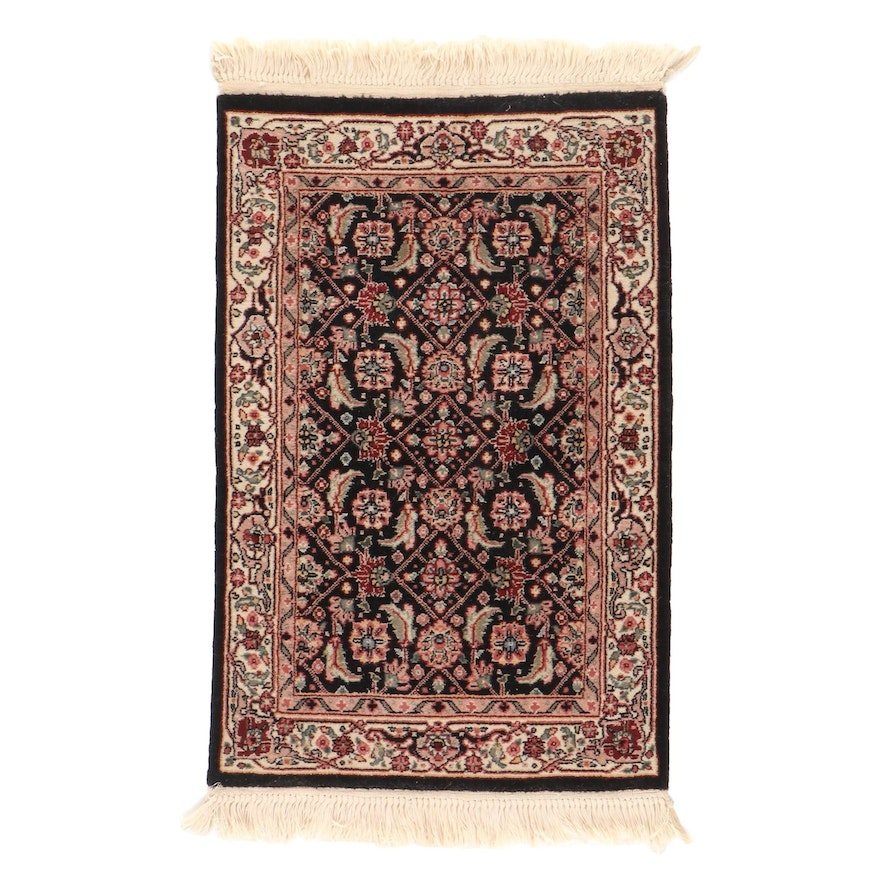 2'1 x 3'7 Hand-Knotted Indo-Persian Herati Accent Rug