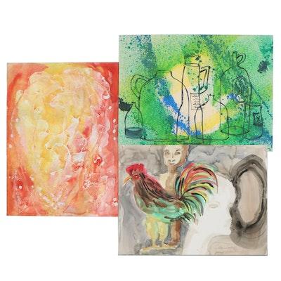 Kathleen Zimbicki Watercolor Paintings