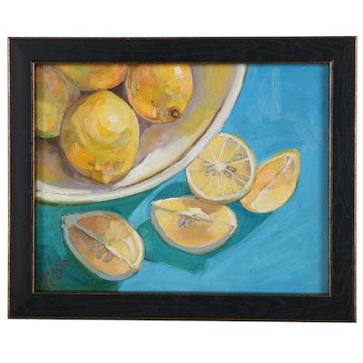 "Monica Cascio Oil Painting ""Morning Light,"" 2021"