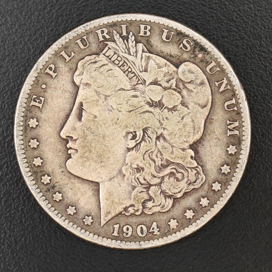Better Date Lower Mintage 1904-S Morgan Silver Dollar