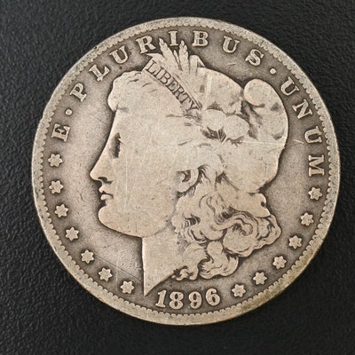 Better Date 1896-O Morgan Silver Dollar