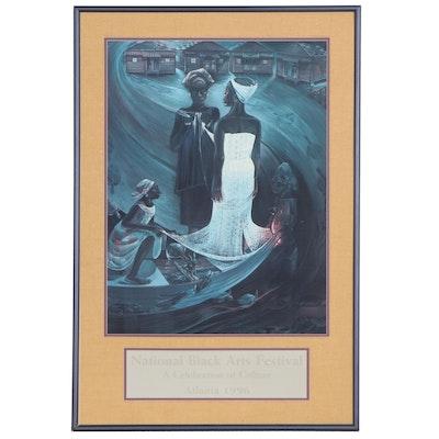 National Black Arts Festival Poster, 1996