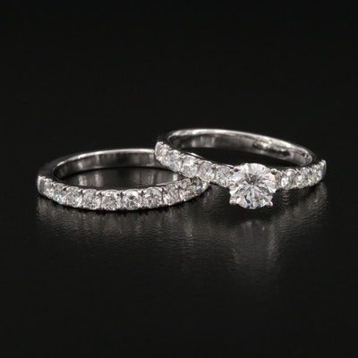 14K 1.64 CTW Diamond Ring Set