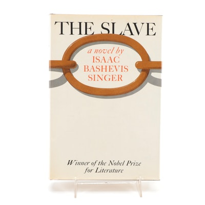 """Signed Seventh Printing """"The Slave"""" by Isaac Bashevis Singer"""