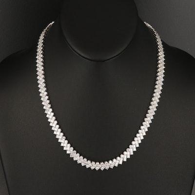 14K 15.40 CTW Diamond Necklace