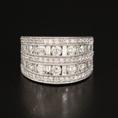 14K 2.20 CTW Diamond Ring