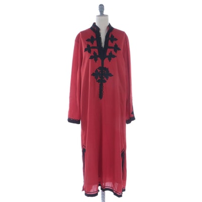 Moprima Embroidered Moroccan Kaftan Tunic