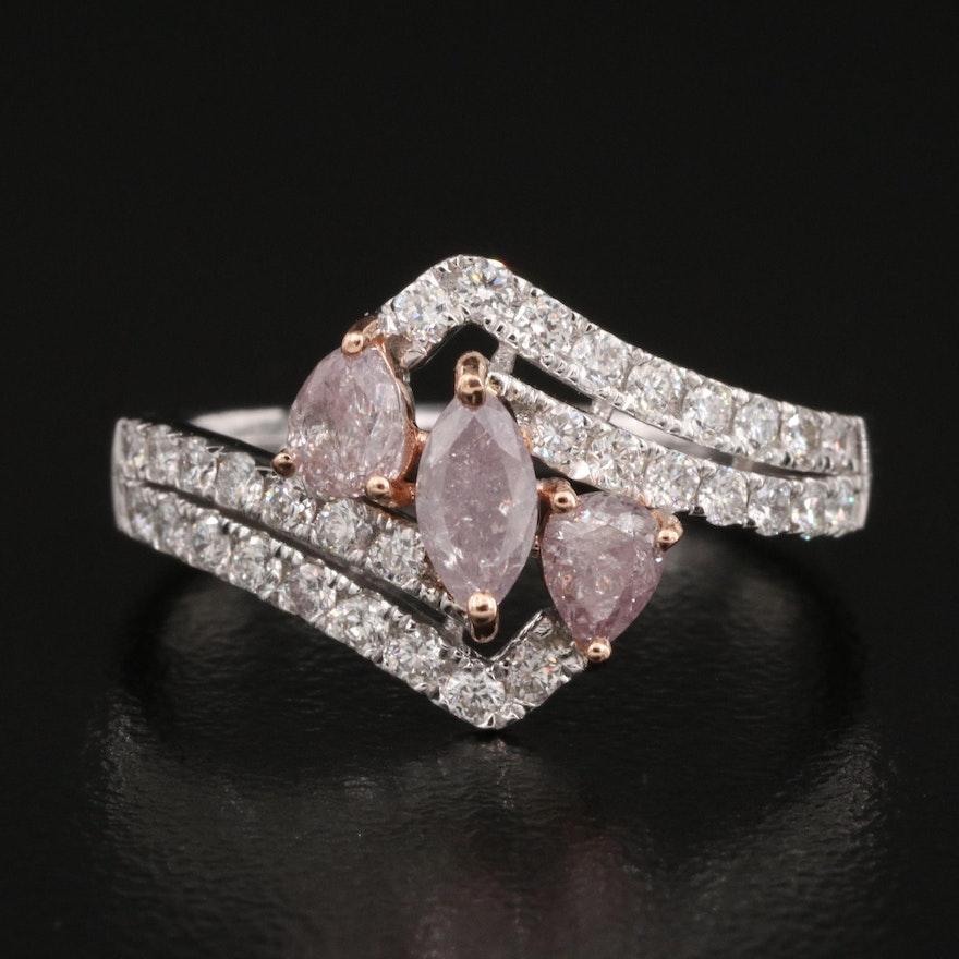 18K 1.06 CTW Diamond Ring