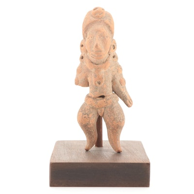 Huastec Ceramic Figure, Pre-Columbian Mexico