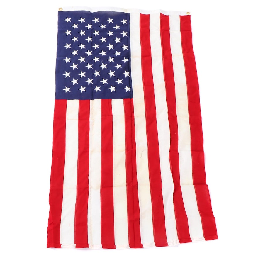 Defiance American 50 Star Flag with AMVETS Envelope
