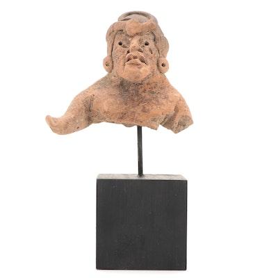 Olmec Ceramic Figure Fragment, Pre-Columbian Mexico