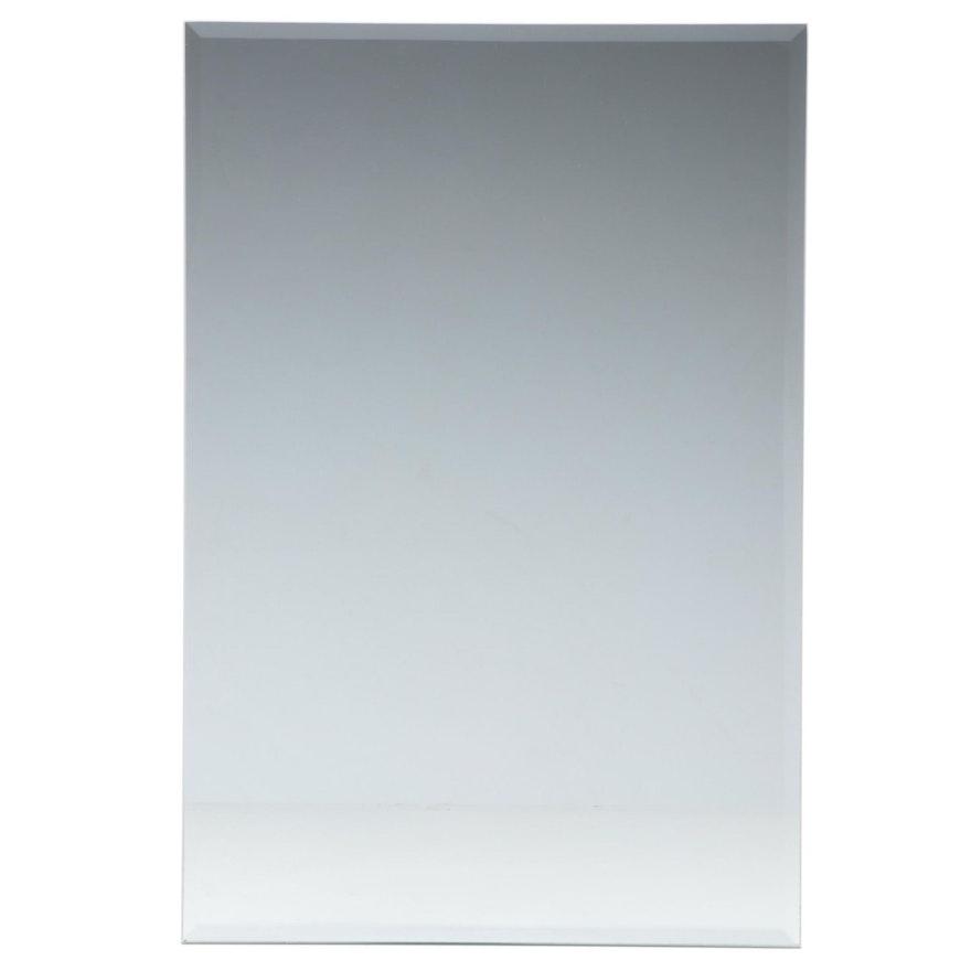 Rectangular Beveled Edge Vanity Mirror
