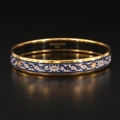Hermès Mosaic Enamel Bangle
