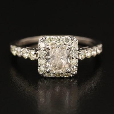 14K 1.70 CTW Diamond Ring