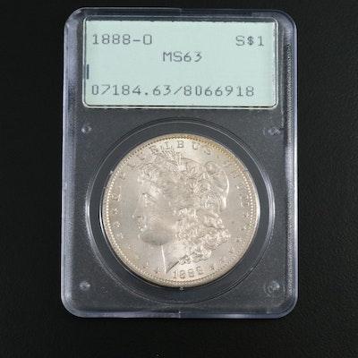 PCGS Graded MS63 1888-O Morgan Silver Dollar