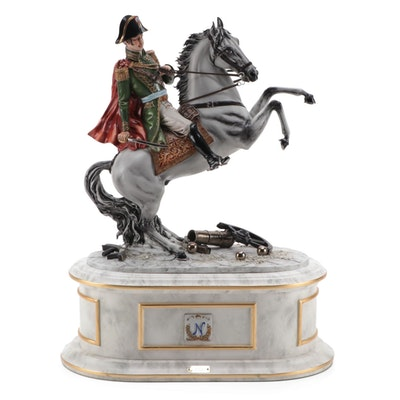 Cortese for Capodimonte Limited Edition Napoleon Porcelain Figurine