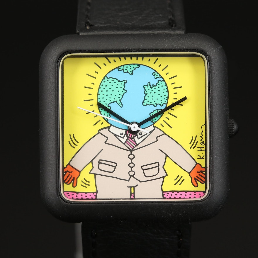 Special Editions Limited Keith Haring Art Wristwatch