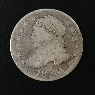 1820 Capped Bust Silver Dime