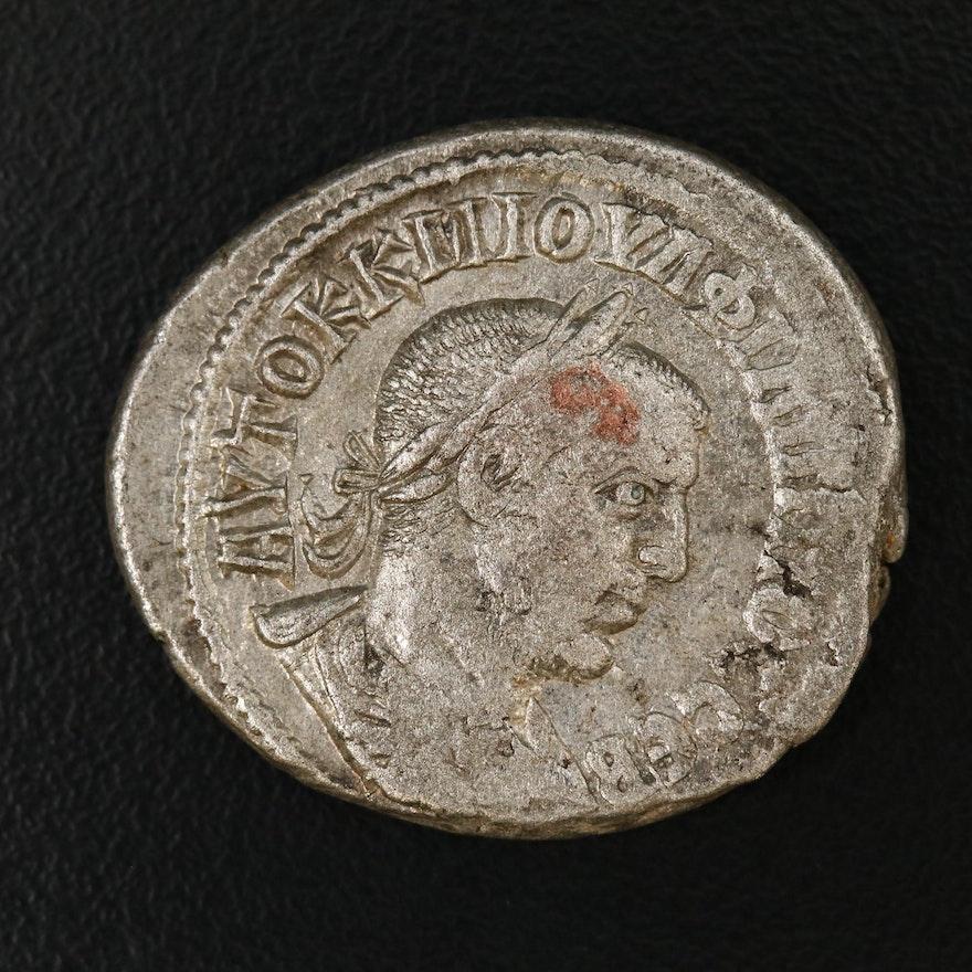 Ancient Seleucid Kingdom AR Tetradrachm of Philip I, 244–249 AD
