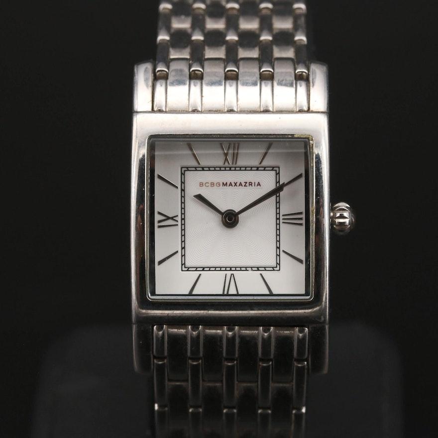 BCBG MAXAZRIA Stainless Steel Quartz Wristwatch