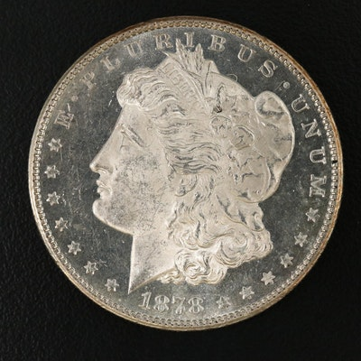 1878-S Uncirculated Morgan Silver Dollar