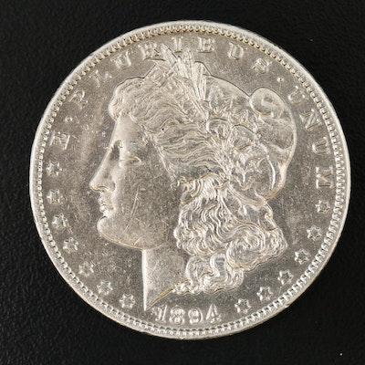 Better Date 1894-O Morgan Silver Dollar
