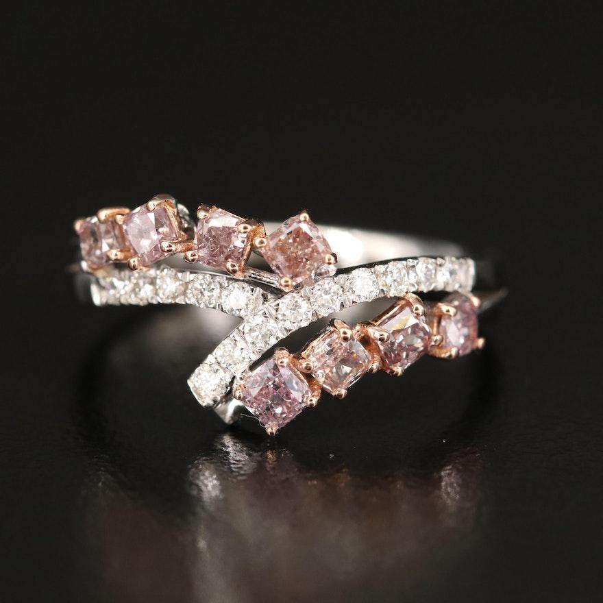18K 1.01 CTW Diamond Ring