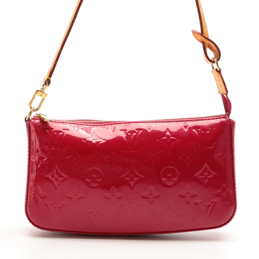 Louis Vuitton Pochette Accessoires NM in Indian Rose Monogram Vernis
