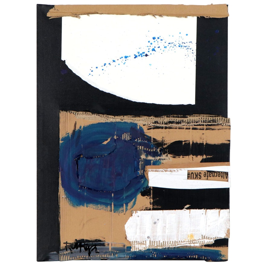"Robbie Kemper Mixed Media Painting ""Alternate SKU"""