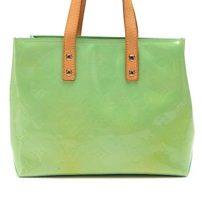 Louis Vuitton Reade PM Tote Bag in Monogram Vernis